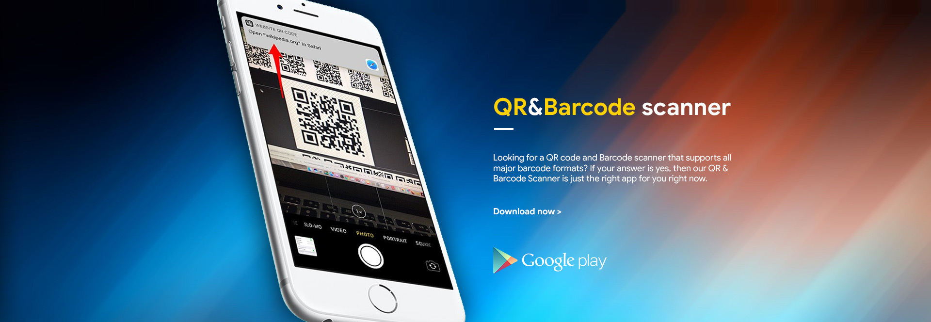 QR and Barcode Scanner